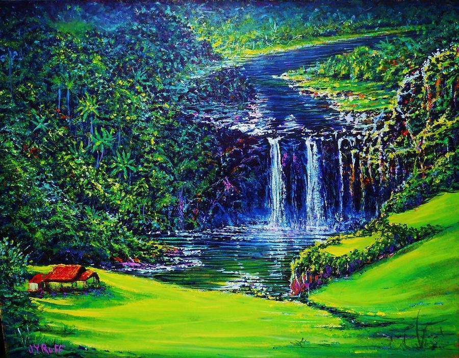 Waimea Falls  by Joseph   Ruff