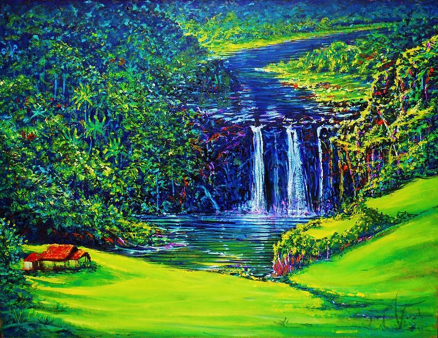 Waimea Falls l  by Joseph   Ruff
