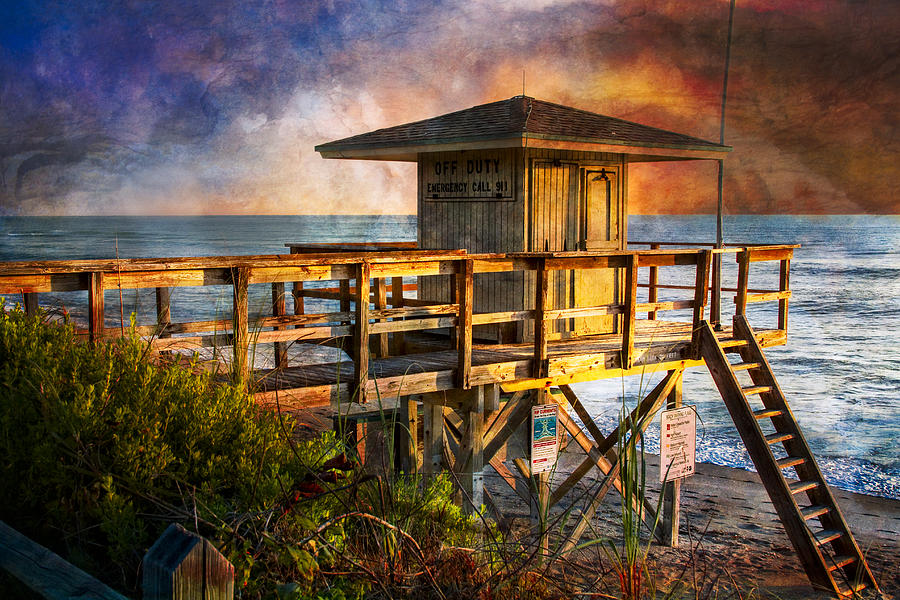Clouds Photograph - Waiting For Customers by Debra and Dave Vanderlaan