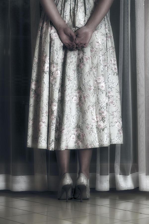 Girl Photograph - Waiting by Joana Kruse