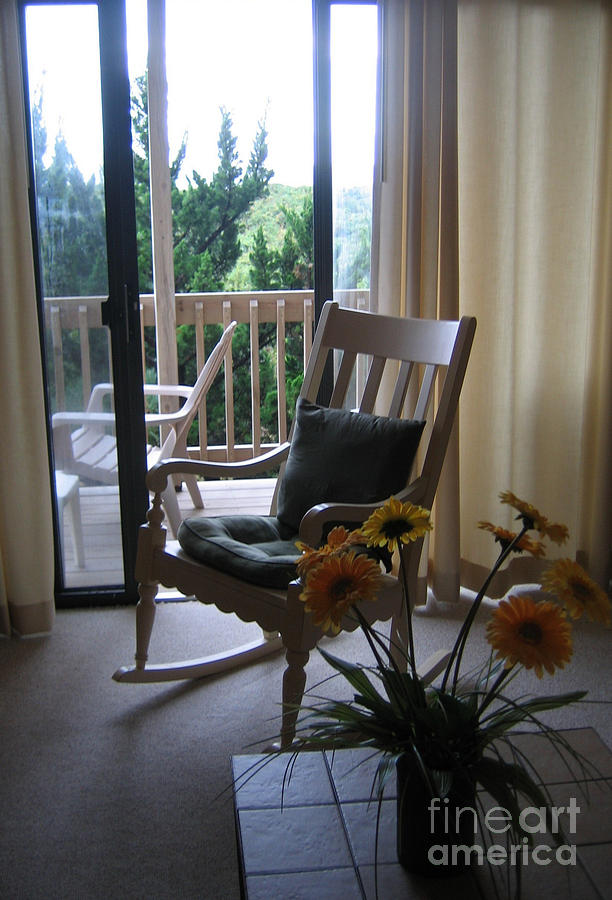 Chairs Photograph - Waiting by Marlene Robbins