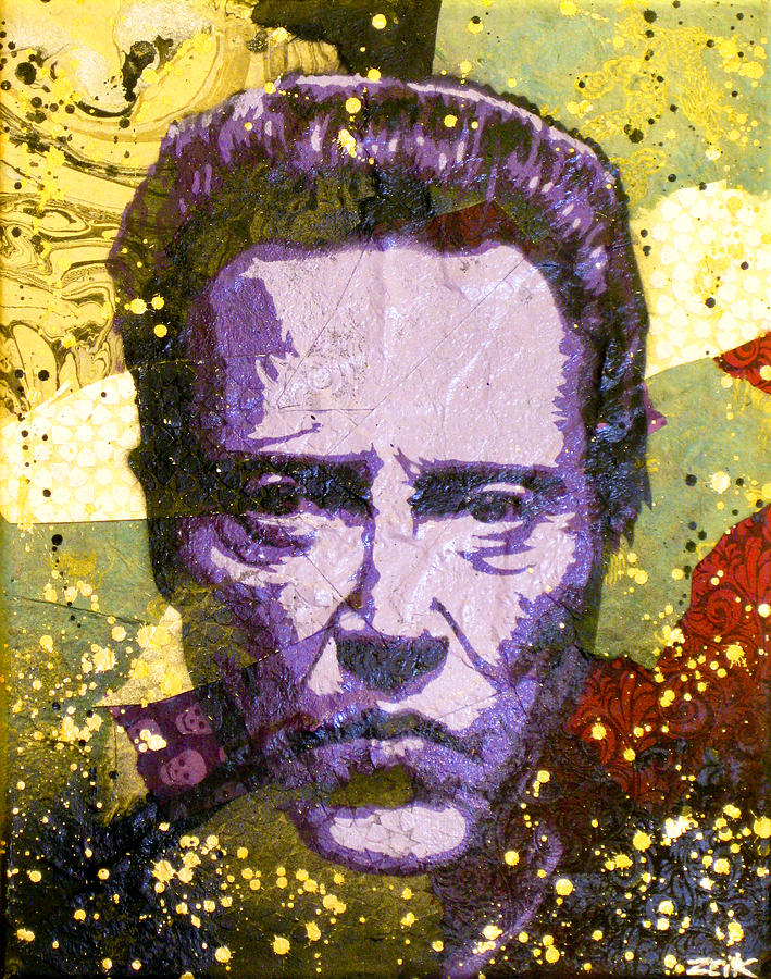 Christopher Walken Painting - Walken My Ass Off by Bobby Zeik