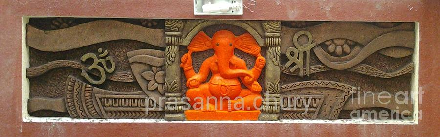 Wall Sculpture Relief by Prasanna Chury