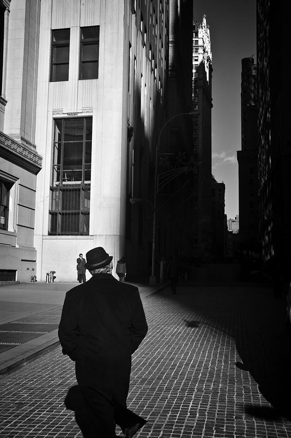 New York Photograph - Wall Street In New York City by Ilker Goksen