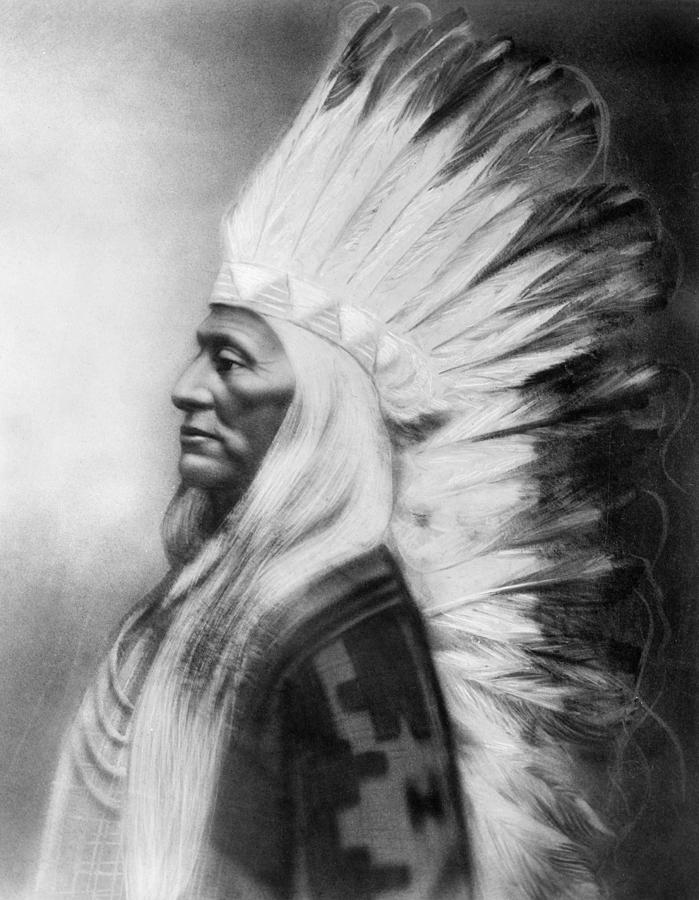 1885 Photograph - Washakie (1804-1900) by Granger