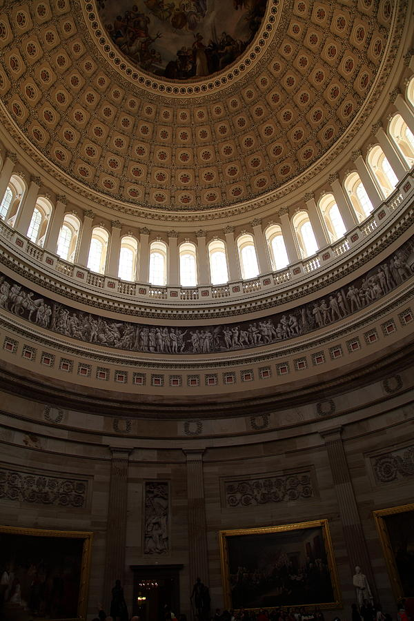 America Photograph - Washington Dc - Us Capitol - 011310 by DC Photographer