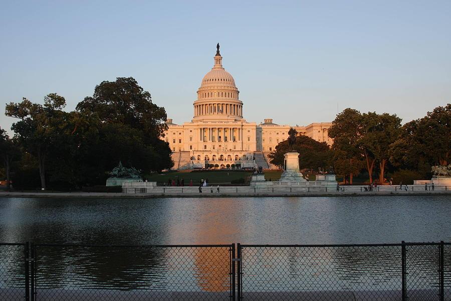 America Photograph - Washington Dc - Us Capitol - 011311 by DC Photographer
