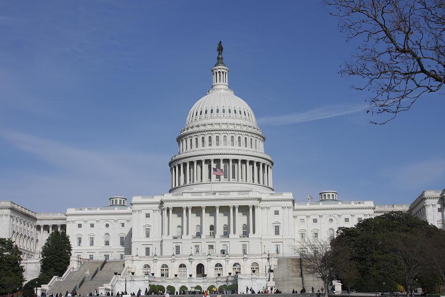 America Photograph - Washington Dc - Us Capitol - 01138 by DC Photographer