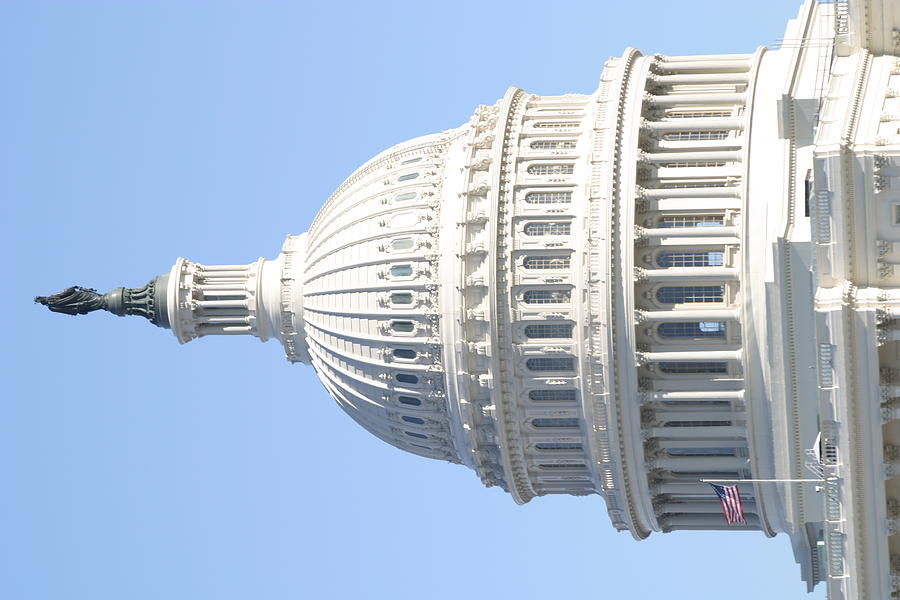 America Photograph - Washington Dc - Us Capitol - 01139 by DC Photographer