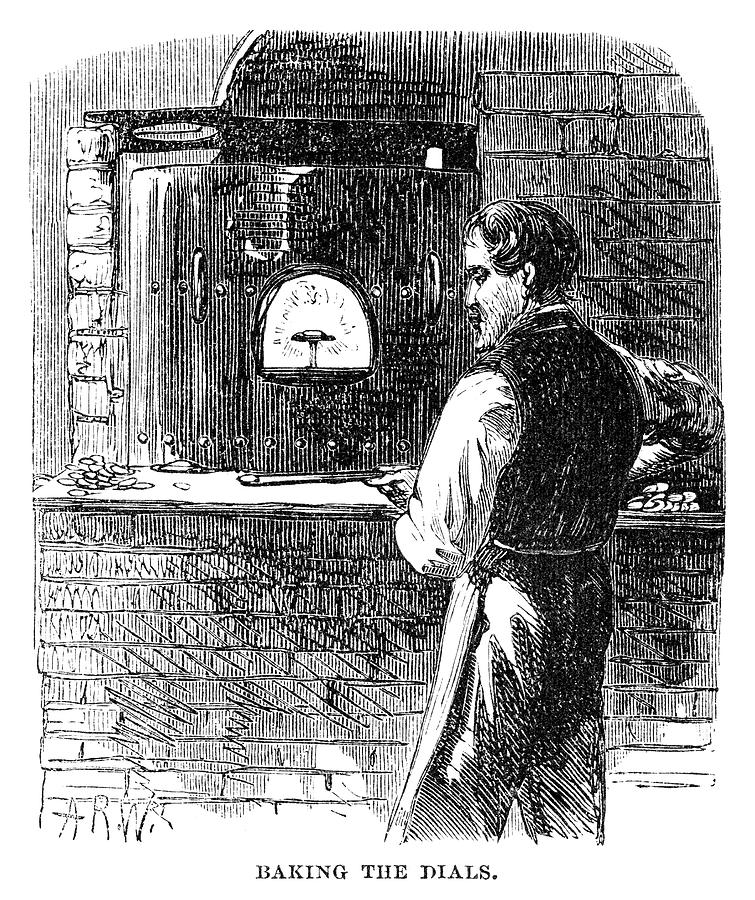 1869 Painting - Watchmaker, 1869 by Granger