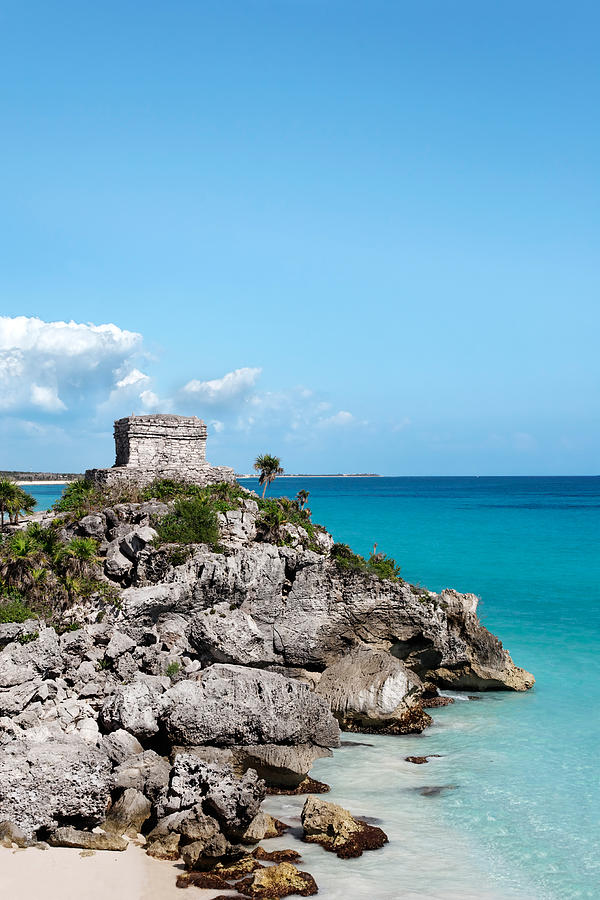 Mayan Photograph - Watchtower by Jo Ann Snover