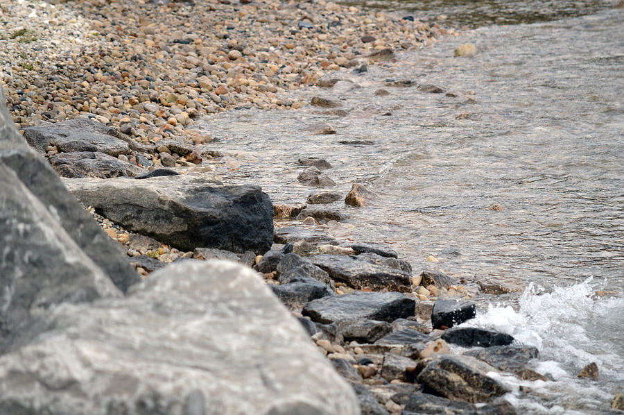 Water Photograph - Waters Edge by Linda Kerkau