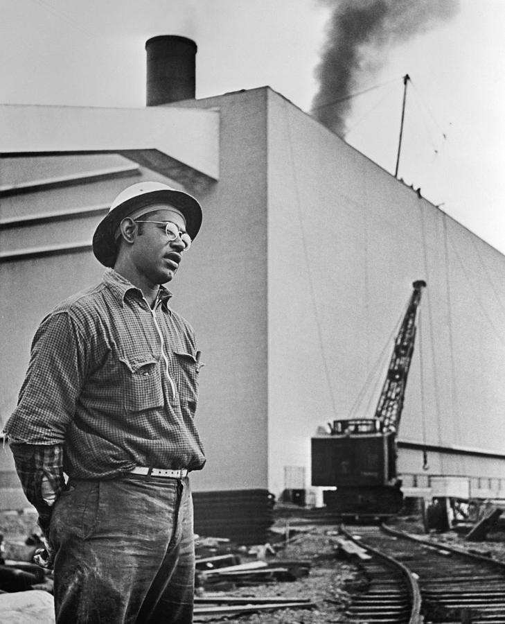 1942 Photograph - Watts Bar Dam, 1942 by Granger