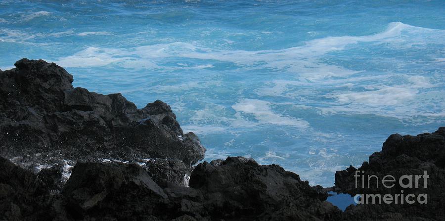 Wave - Vague - Ile De La Reunion - Reunion Island Photograph by Francoise Leandre