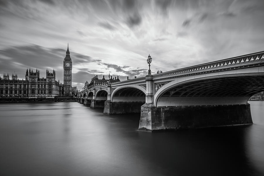 London Photograph - Westminster Serenity by Nader El Assy