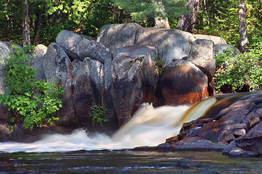 Waterfalls Photograph - Where Tranquil Waters Run by Leda Robertson