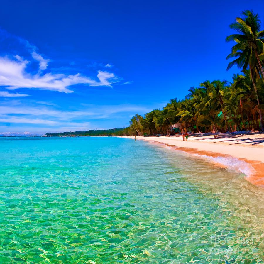 Boracay Beach: White Beach Boracay Photograph By Joerg Lingnau