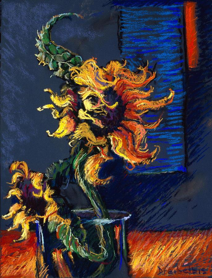 Wild Sunflowers by Ellen Dreibelbis
