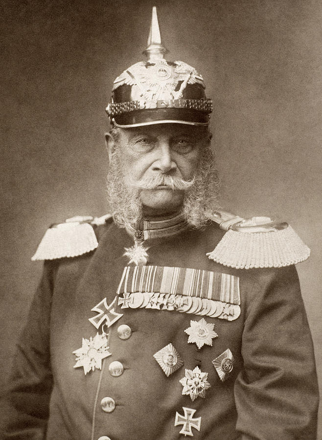 19th Century Photograph - William I Of Prussia (1797-1888) by Granger
