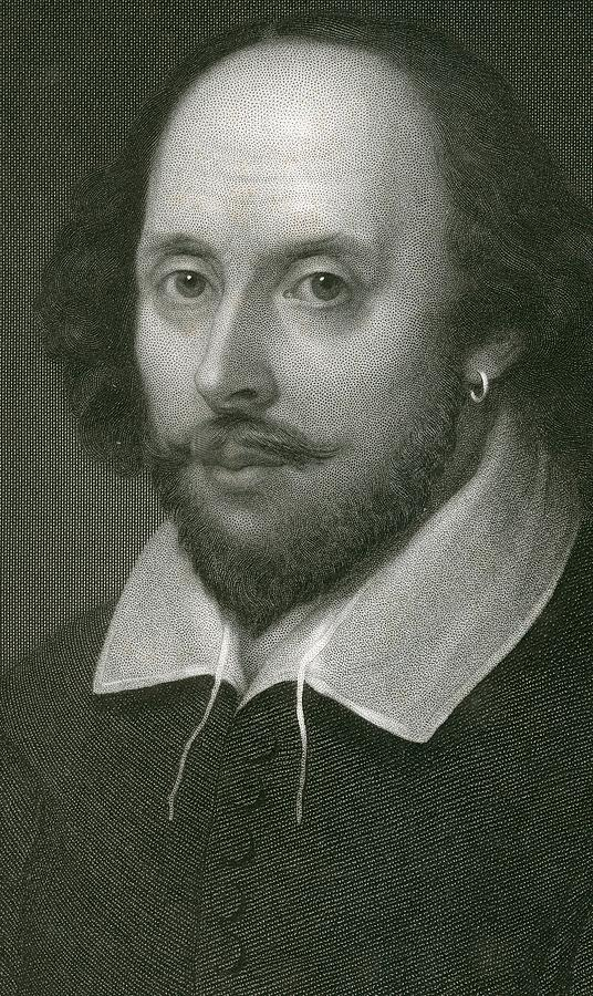 Poet Drawing - William Shakespeare by English School