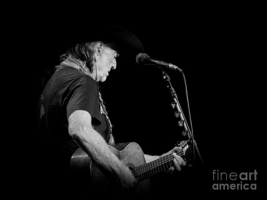 Willie Nelson Photograph