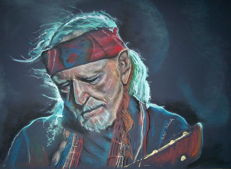 Portrait Pastel - Willie by Peter Suhocke