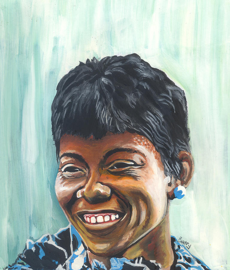 Wilma rudolph painting by emmanuel baliyanga wilma rudolph painting wilma rudolph by emmanuel baliyanga voltagebd Choice Image