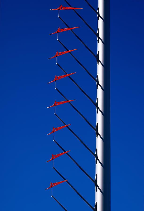 San Francisco Photograph - Wind Arrows by Rona Black