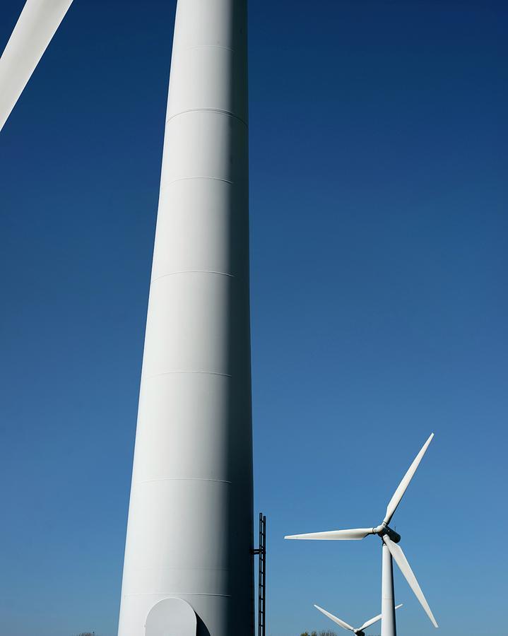 Renewable Photograph - Wind Turbines by Robert Brook