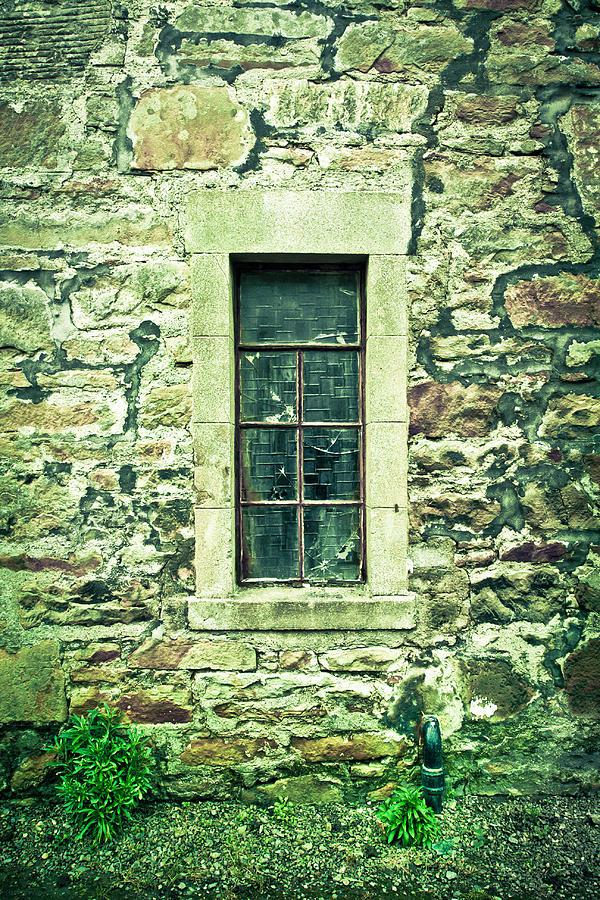 Abandoned Photograph - Window by Tom Gowanlock