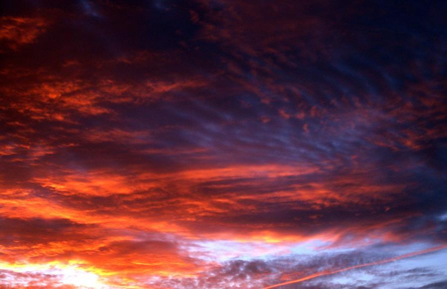 Sunset Photograph - Windows Of Heaven by Julia  Walsh