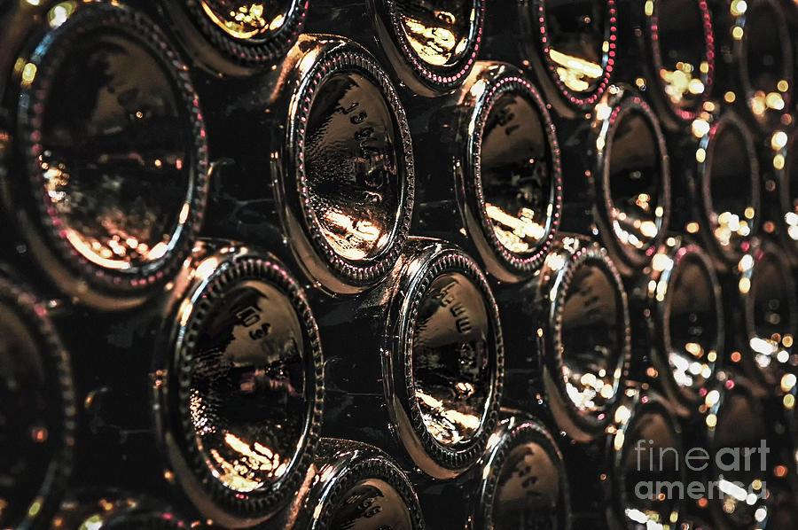 Bottle Photograph - Wine Bottles by Elena Elisseeva