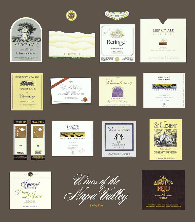 Poster Photograph - Wines Of The Napa Valley - Series 5 by J Michael Orr