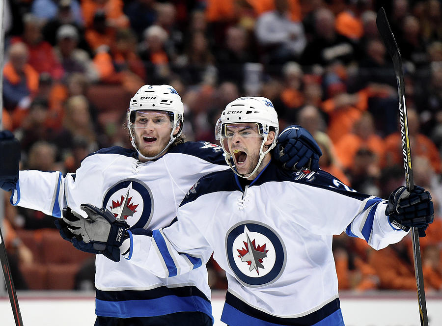 Winnipeg Jets V Anaheim Ducks - Game One Photograph by Harry How