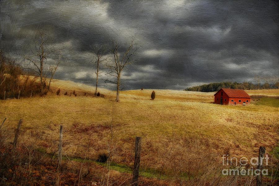 Winter Begins Photograph - Winter Begins by Lois Bryan