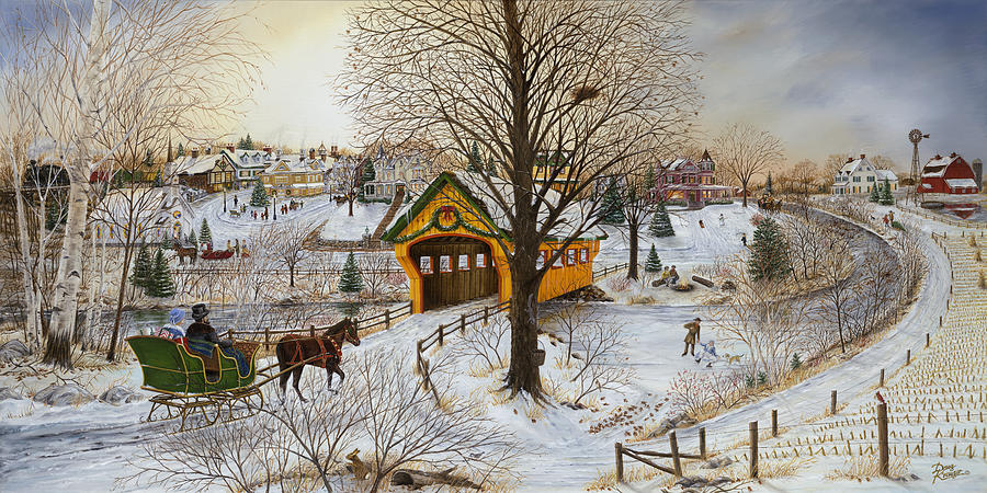 Winter Painting - Winter Memories by Doug Kreuger