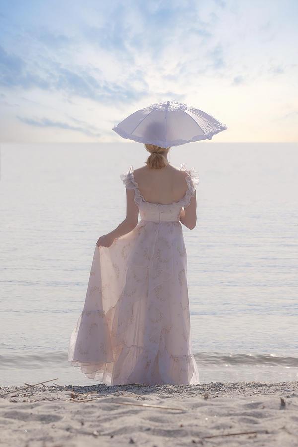 Woman Photograph - Woman At The Beach by Joana Kruse
