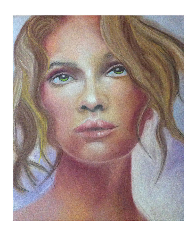 Woman Portrait Painting - Woman by Graciela Scarlatto