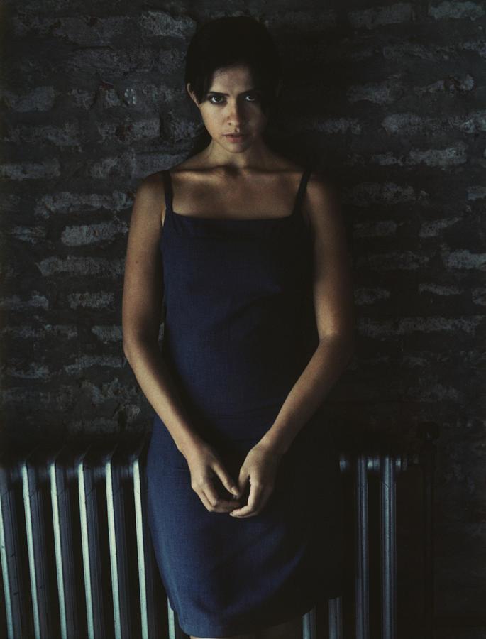 Woman Looking Into Camera, Portrait Photograph by Matthieu Spohn