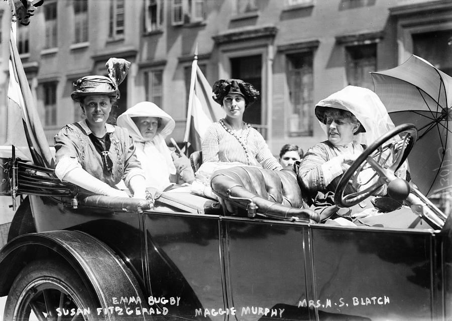 Activist Photograph - Womens Suffrage, 1913 by Granger