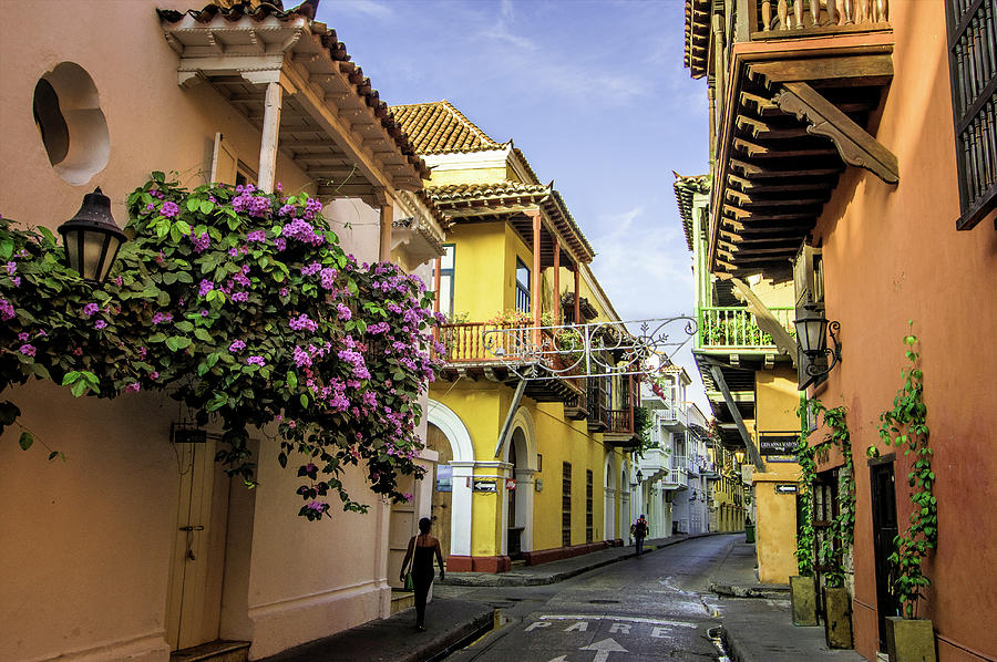 Architecture Photograph - Wonderful Spanish Colonial Architecture by Jerry Ginsberg