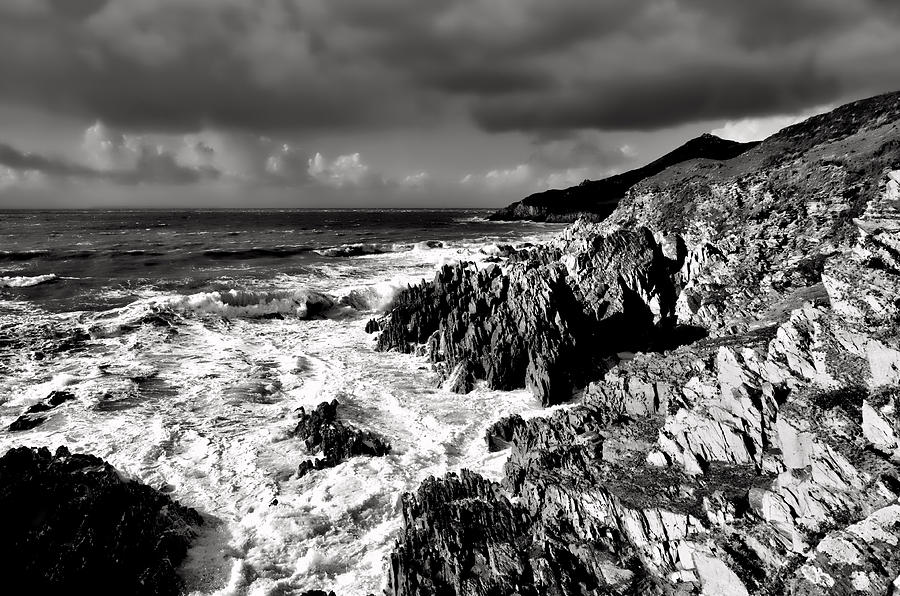 Morte Point Photograph - Woolacombe To Morte Point by Pete Hemington