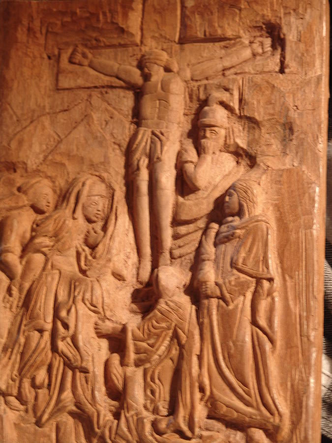 Relief - Work In Progress - On Calvary by G Peter Richards