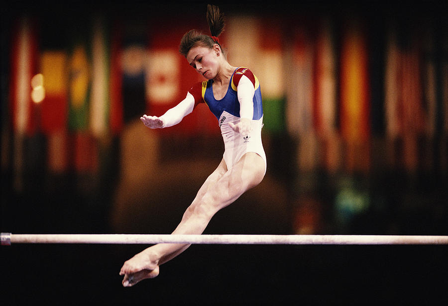 World Artistic Gymnastics Championships Photograph by Simon Bruty