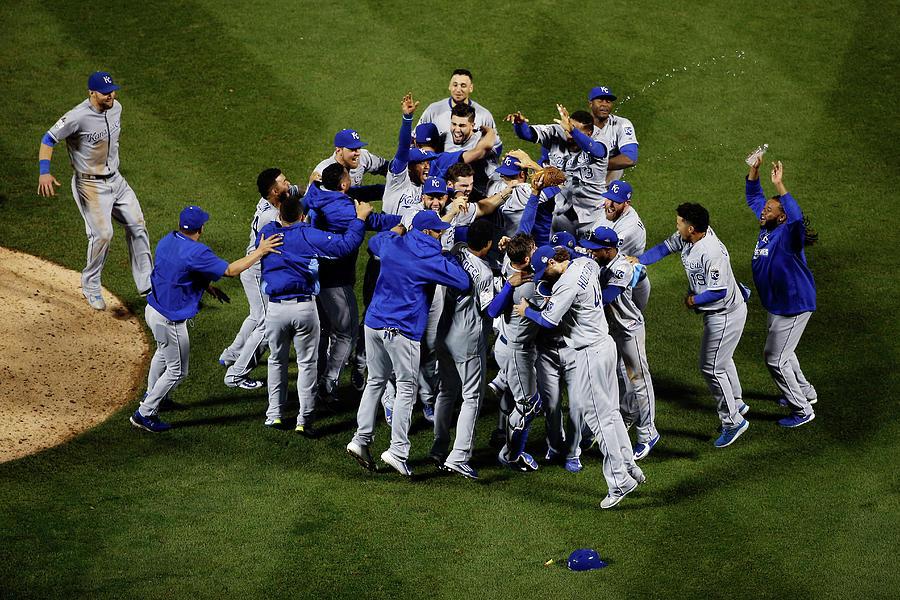 World Series - Kansas City Royals V New Photograph by Tim Bradbury