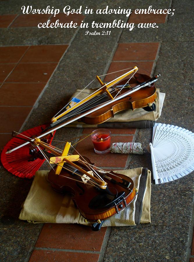 Psalm Photograph - Worship by Roseann Errigo