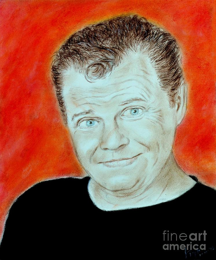 Jerry The King Lawler Drawing - Wrestling Legend Jerry The King Lawler by Jim Fitzpatrick