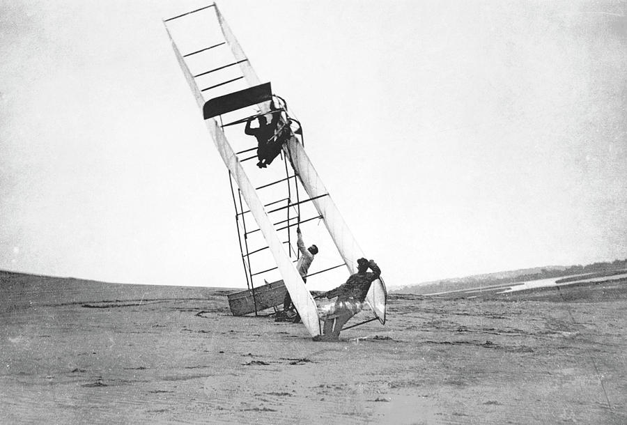 Flyer Photograph - Wright Flyer by Us Air Force/science Photo Library