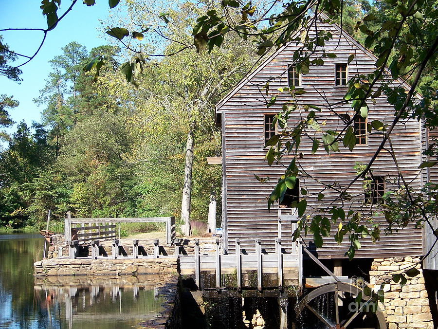 Yates Mill Photograph - Yates Mill by Kevin Croitz