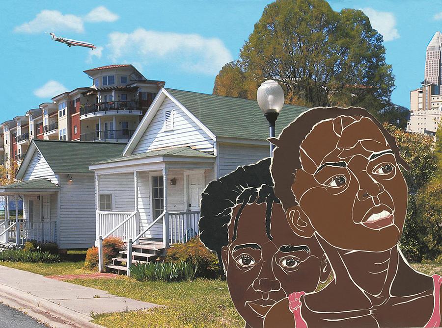 Shotgun Houses Mixed Media - Yesterday Today Tomorrow by Martha Rucker